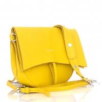Дамска чанта Bag to Bag в жълт цвят