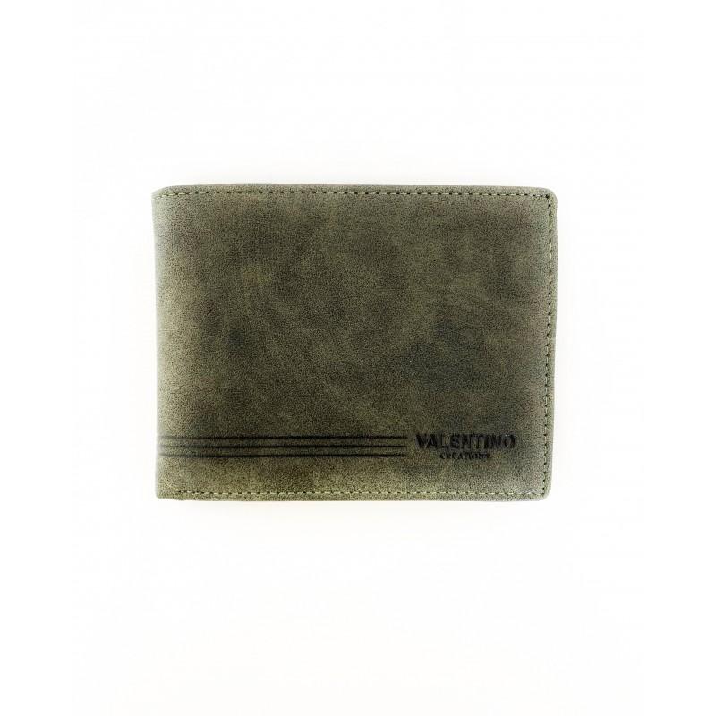 Мъжко портмоне Valentino от естествена кожа